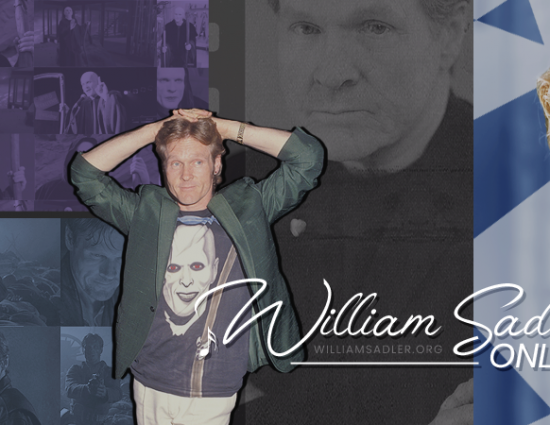 A Note From William/Bill….. And a Huge Thank You From William Sadler Online