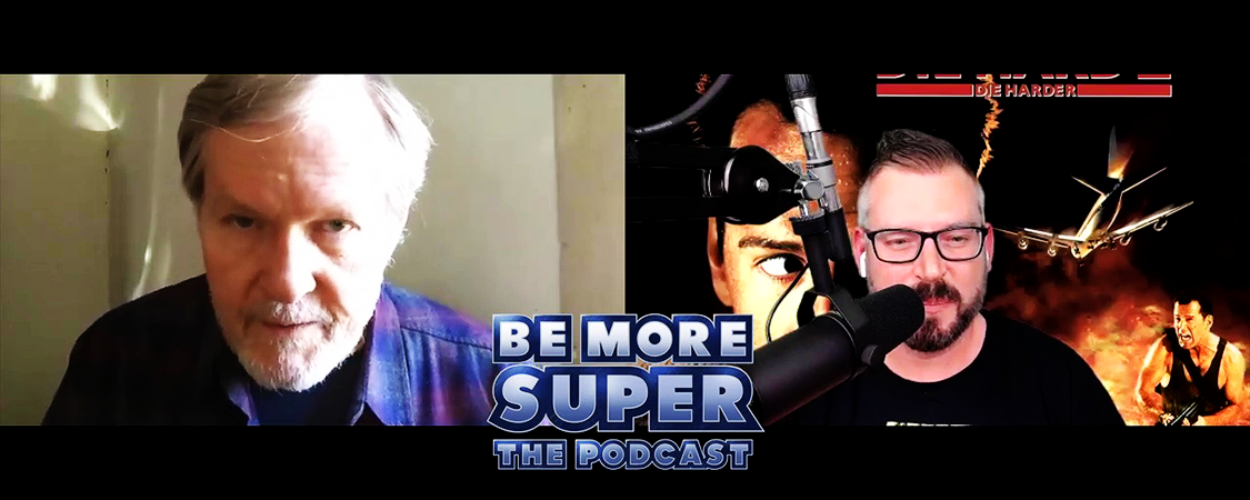 "Bill On The ""Be More Super Podcast"""