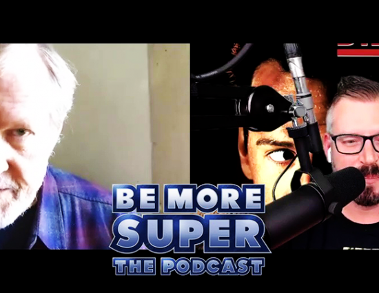 """Bill On The """"Be More Super Podcast"""""""